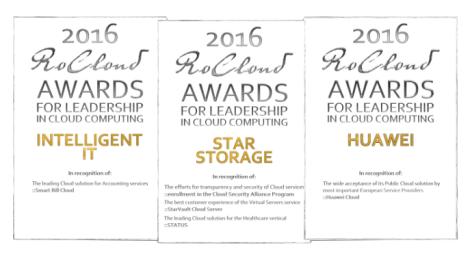 Premiile RoCloud pentru 2016, anuntate